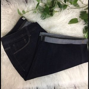 St. John's Bay Bermuda Jean shorts 16W